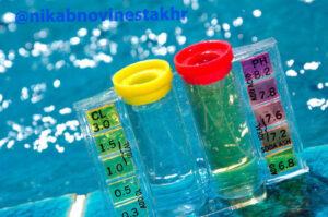 تنظیم ph آب استخر