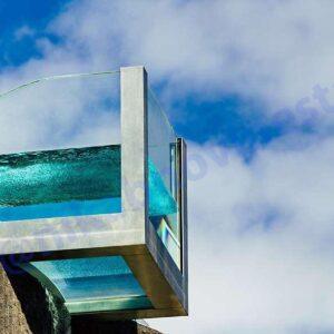 چرا استخر شیشه ای بسازیم